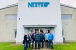 Együtt a német, lengyel és magyar NESTRO vezetősége Pécsen