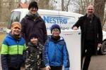 A német NESTRO légtisztítót adományozott Jénában