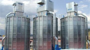NBS acéllemez siló