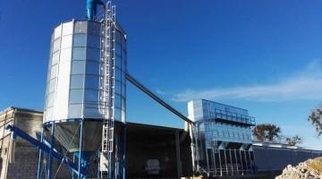 NBS WS acéllemez siló