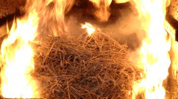 Szalma tüzelésű kazánok