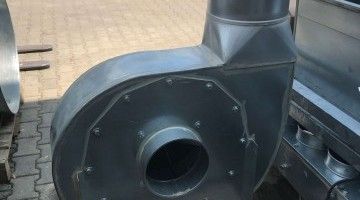 Nestro nyitott járókerekes 4 kW-os ventilátorok (2 db)
