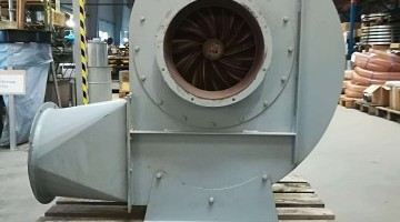 Használt 15 kW-os Zenner Ventilatoren ventilátor
