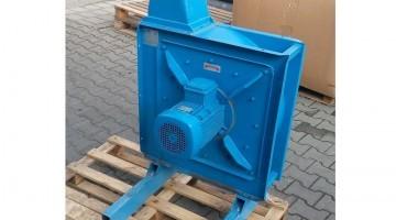 Nyitott járókerekű aprító ventilátor 3 kw teljesítménnyel