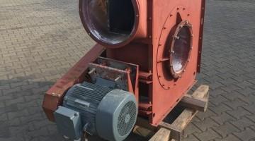 Porelszívó ventilátor 15kW-os villanymotorral