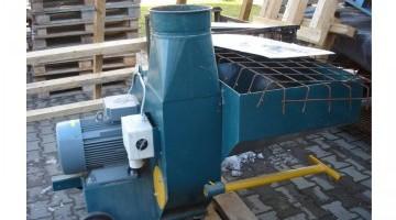 Apríték szállító ventilátor 11 kW