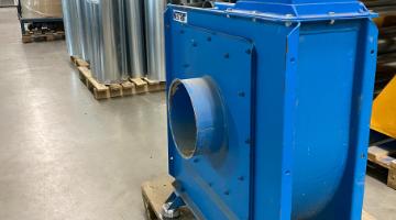 Használt 5,5kW-os NESTRO SMSF ventilátor