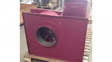 Porelszívó ventilátor 11 kW-os villanymotorral