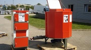 25 kW teljesítményű Chips Duplex automata faapríték és fatüzelésű kazán