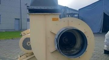 Használt 30 kW-os AC-Motoren ventilátor
