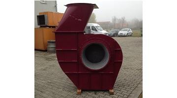 Festékköd elszívó ventilátor 10,2 kW teljesítménnyel
