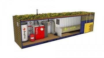 BioBox konténerek Fröling kazánokhoz 7-500 kW