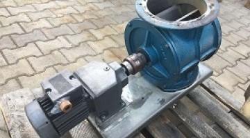 Használt MAG LE-20 forgócellás adagoló fém lapáttal