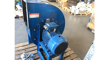 Zárt járókerekű ventilátor 11 kW teljesítménnyel