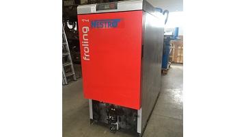 Automata 75 kw teljesítményű faapríték tüzelésű kazán